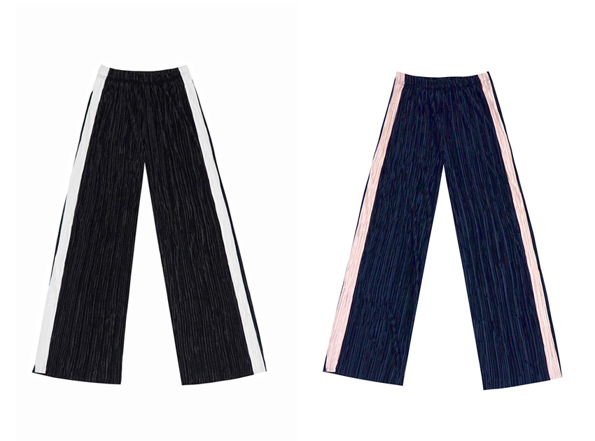 블랙피치(SALE) Pleats Bell - Bottom Pants