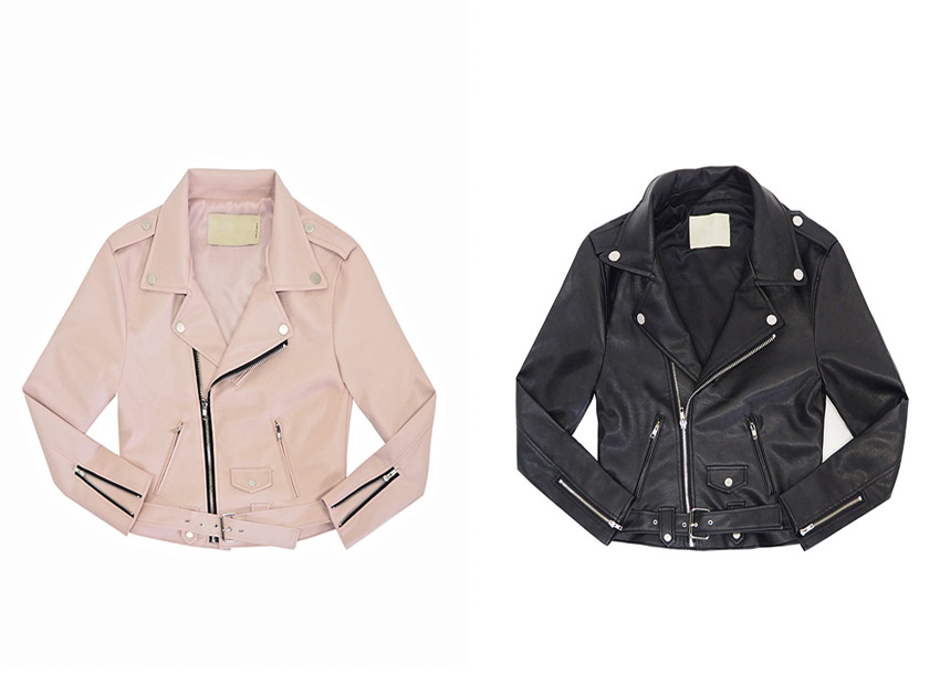 블랙피치(SALE) Motorcycle Jacket