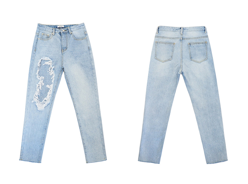 블랙피치 Bleach Super Damage Jeans
