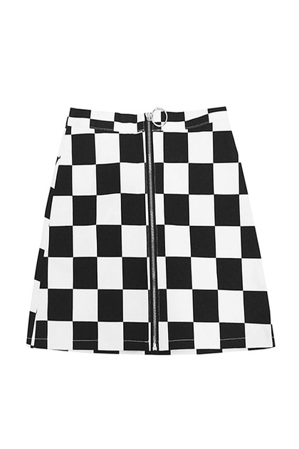 블랙피치Racer Mini Skirt